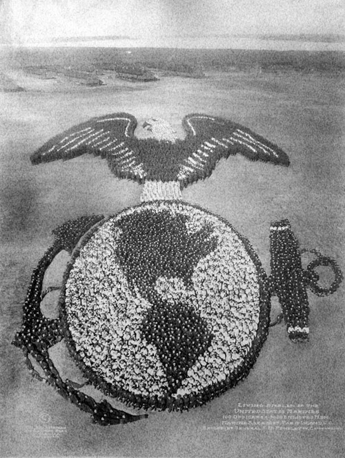 Living Emblem of the United States Marines